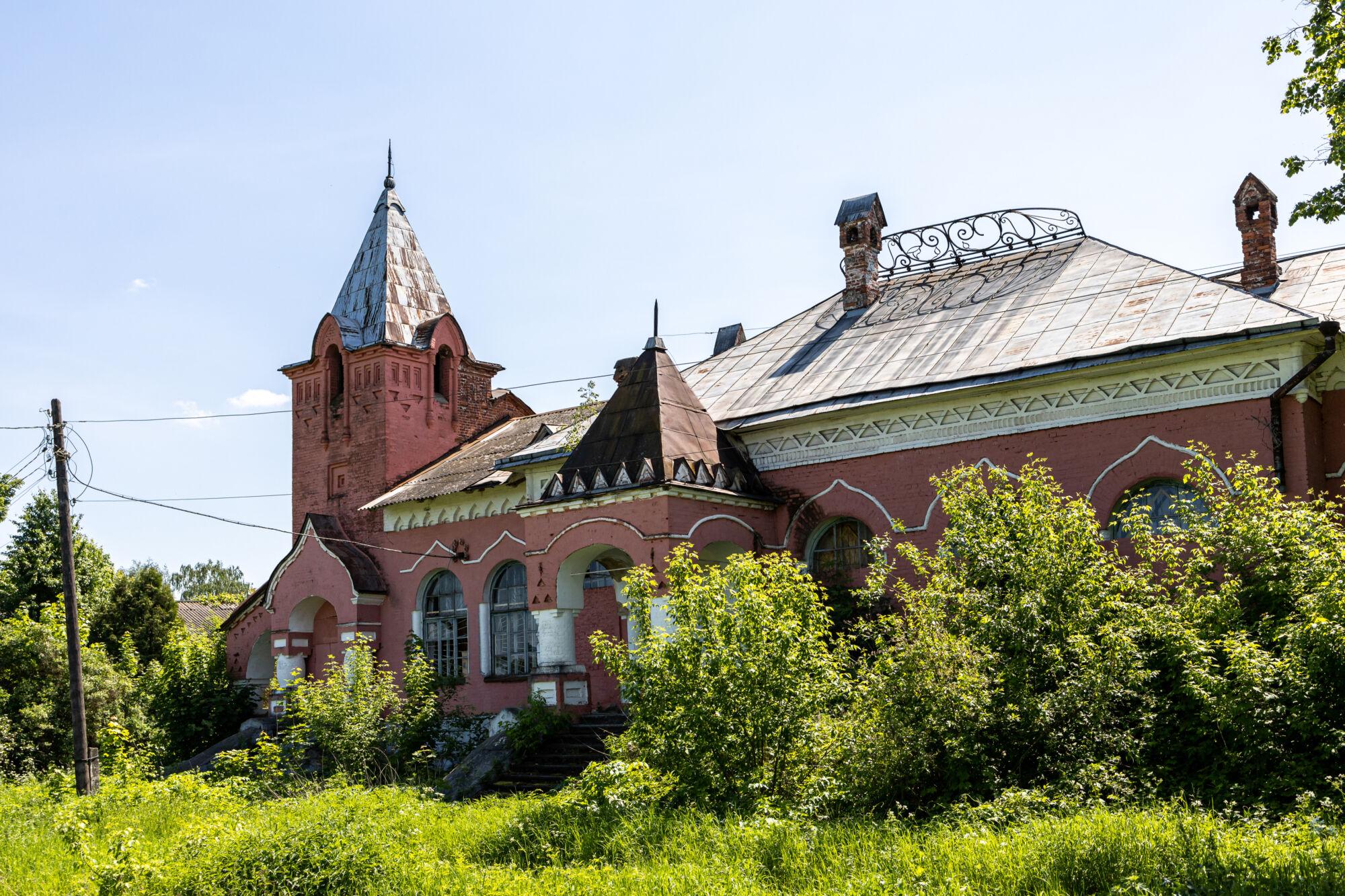 Заброшенная царская железнодорожная станция Рюриково © ДРУГИЕ МЕСТА