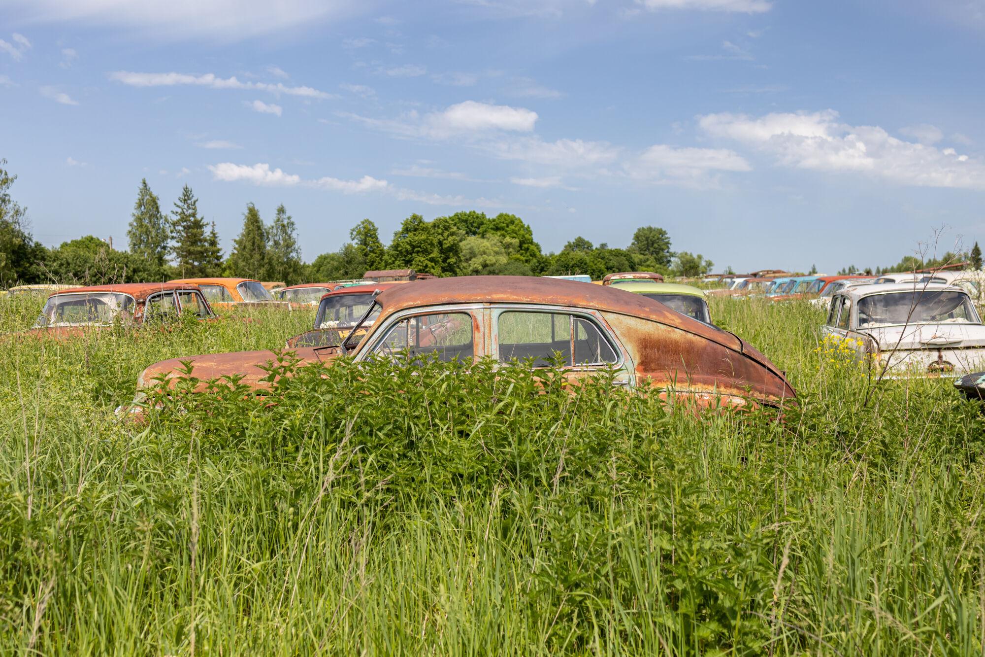 Автопогост или музей АВТО-СССР в Тульской области © ДРУГИЕ МЕСТА
