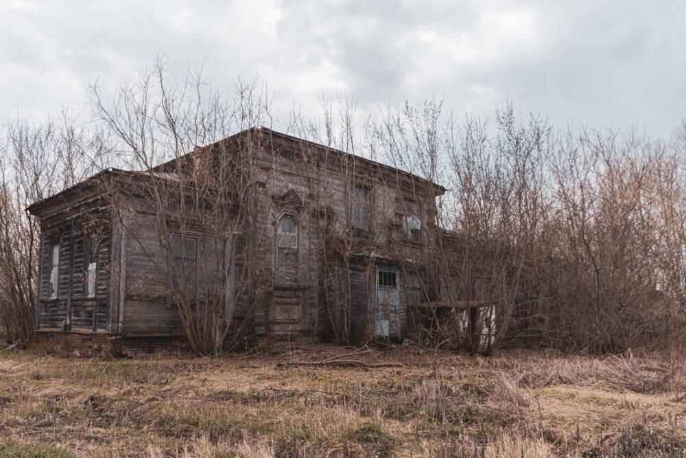 Заброшенная школа в старой церкви. Страшное место в селе с загадочной историей © ДРУГИЕ МЕСТА