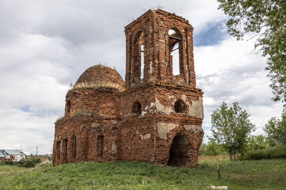Церковь Илии Пророка в селе Солдатская Письмянка (Республика Татарстан) © ДРУГИЕ МЕСТА